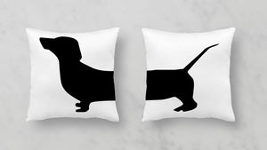 Dachshund Pillow Cases Set (2 pieces)