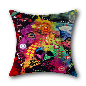 Coco Dog Cushion Cover