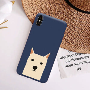 Cartoon Dog Phone Case