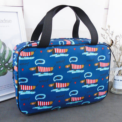 Dachshund Waterproof Toiletry Carry Bag