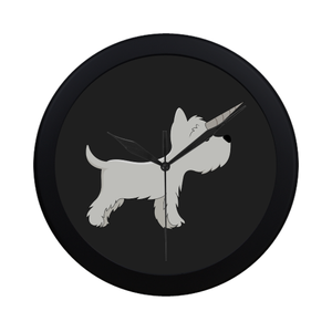 Westie Unicorn Wall Clock