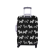 Westie Lolly Luggage Cover