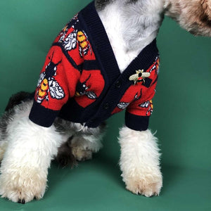 Bee Dog Sweater