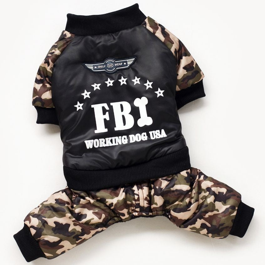 FBI Waterproof Jacket