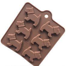 Westie Cookie Mold (2 pieces)