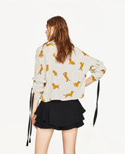 Yellow Dachshunds Blouse