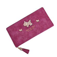 Lilu Westie Long Wallet
