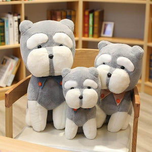 Schnauzer Stuffed Animal