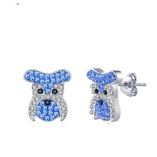 Schnauzer Stud Earrings