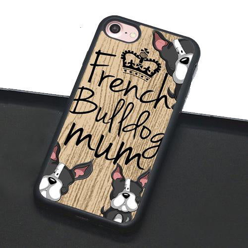Frenchie Mum iPhone Case
