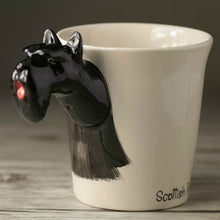 3D Black Scottish Terrier Mug