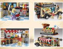 Dachshund Hot Dog Truck Mini Blocks
