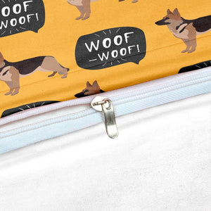 German Shepherd Bedding Set