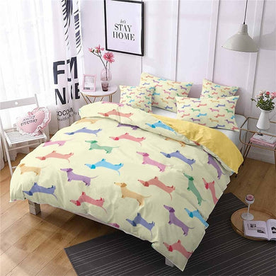 Emma Dachshund Bedding Set