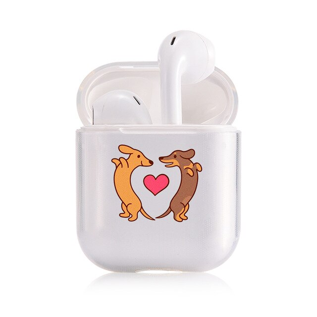 Dachshund Love AirPods Case