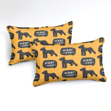 Woof Woof Schnauzer Bedding Set