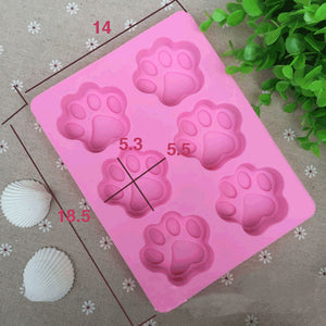 Dog Paw Baking Mold (2 pieces)
