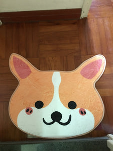 Smiley Corgi Mat