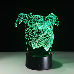 Color Changing Boxer Lamp