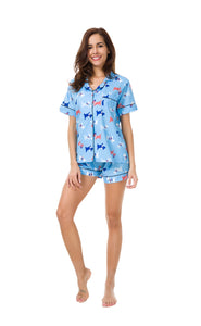 Bibi Dog Pajama 3 Piece Set