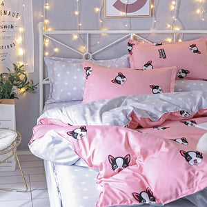 Bulldog Bedding Set