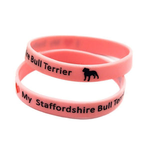 I Love My Staffy Bracelet