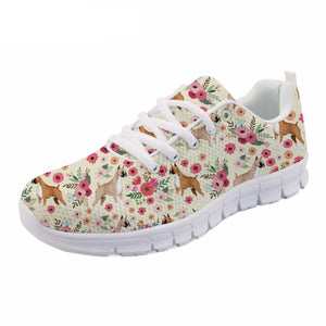 Boxer Flower Sneakers