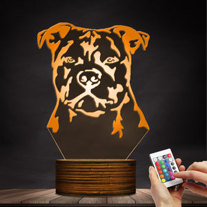 Staffy LED Lamp