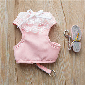 Lace Harness Top + Leash