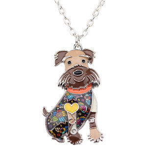 Schnauzer Pedant Necklace