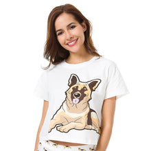Jenny German Shepherd Top