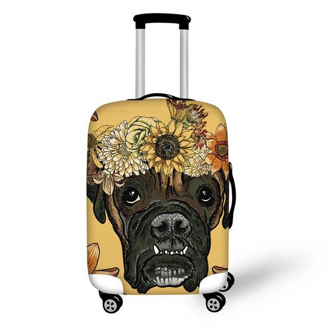 Daisy Luggage Protective Cover