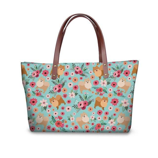 Pomeranian Shopper Bag