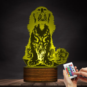 Cavalier Changing Colors Led Lamp