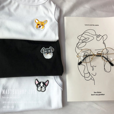 Friendship Embroidery Cotton Tee