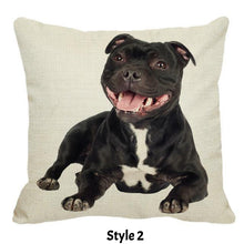 Smiley Staffy Pillow Case