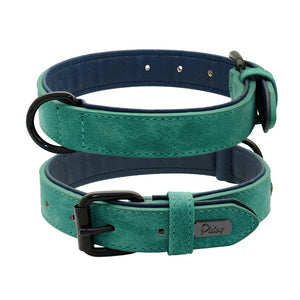 Genuine Leather Collars