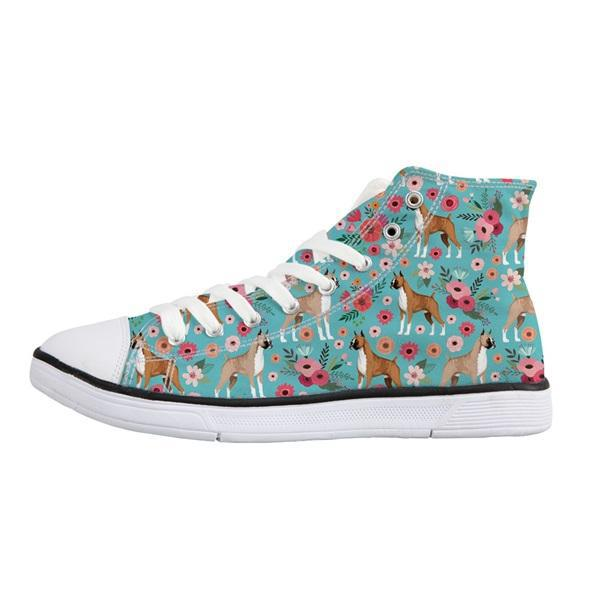 Boxer Canvas Sneakers