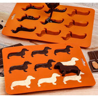 Chilly Sausage Dogs Mold Tray