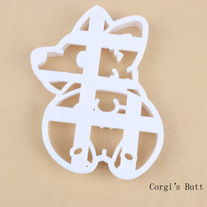 3pcs Set Cute Corgi Molds