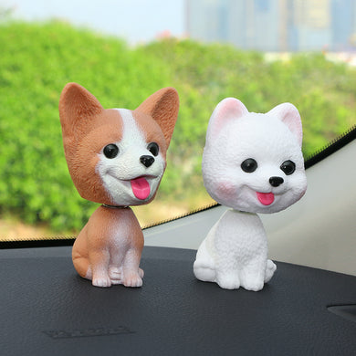 Nodding Head Puppy - Car Decoration