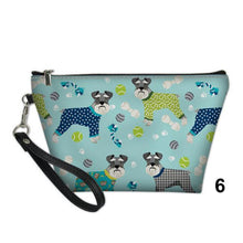 Schnauzer Cosmetic & Makeup Bag
