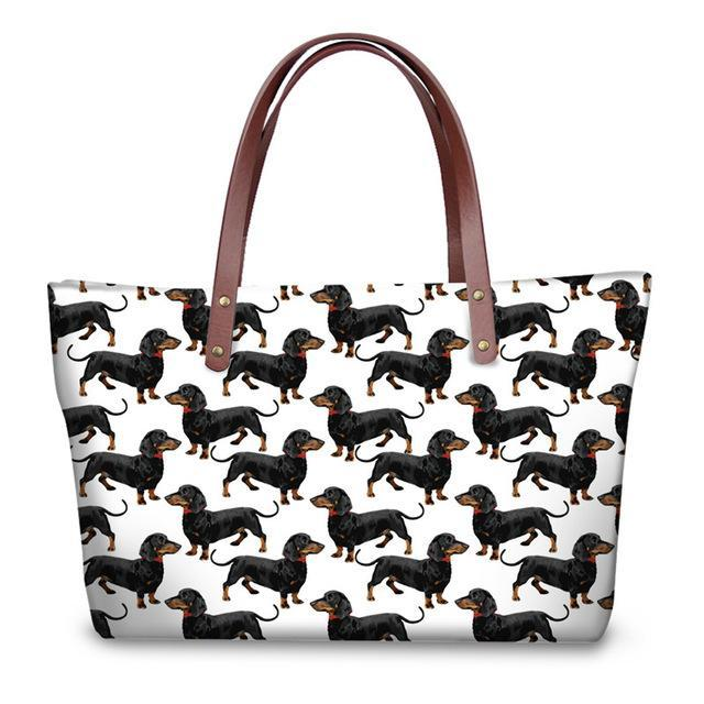 Molly Dachshund Shopper Bag