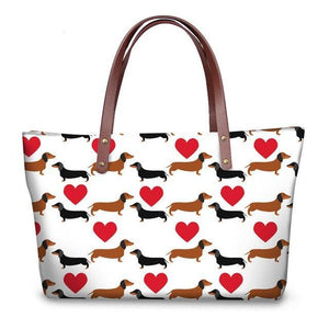 Lucy Dachshund Shopper Bag