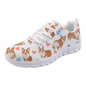 Corgi Love Sneakers