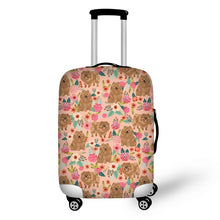 Pomeranian Luggage Cover