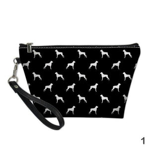 Boxer Dog Cosmetic Bag
