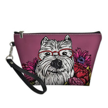 Westie Dog Cosmetic Bag