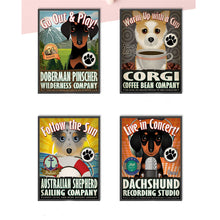 Dog Company Canvas Posters