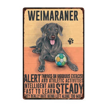 Retro Dog Metal Wall Art